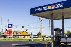Ft Wayne - Około Wrzesień 2016: Sunoco handlu detalicznego benzyny lokacja Sunoco jest filią Energetycznego przeniesienia partner Zdjęcia Stock