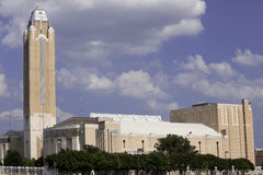 Ft Worth Landmark. The Will Rogers Memorial Center is a multi-purpose entertainment complex under 45 acres of roof, spread over 85 acres in the heart of the Fort Stock Photos