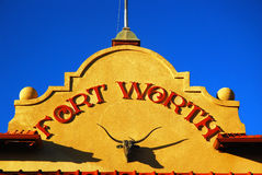 Ft Worth Stock Exchange and Commodity Market. The Ft Worth Stock Exchange and Commodity Market royalty free stock photography