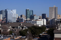 Ft Worth, Texas. Downtown skyline of Ft Worth, Texas stock images