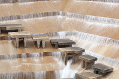 Ft Worth Water Gardens Royalty Free Stock Photo
