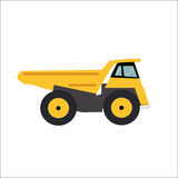 Ftat Truck Vector Illustration Royalty Free Stock Images
