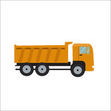 Ftat Truck Vector Illustration Stock Photography