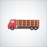 Ftat Truck Vector Illustration Stock Photo