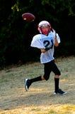 Fútbol americano de la juventud Imágenes de archivo libres de regalías