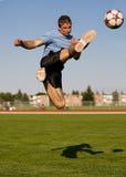 Fútbol masculino Fotografía de archivo libre de regalías
