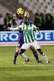 FTC gegen UTE Hungarian Cup-Match Lizenzfreies Stockbild
