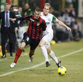 FTC vs. Budapest-Honved Hungarian OTP BANK League Royalty Free Stock Photos