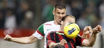 Free FTC Vs. Budapest-Honved Hungarian OTP BANK League Stock Photography - 23940352