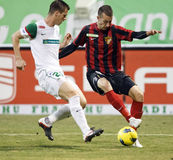 FTC vs. Budapest-Honved Hungarian OTP BANK League Stock Photography