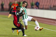FTC vs. Honved OTP Bank League match Stock Images