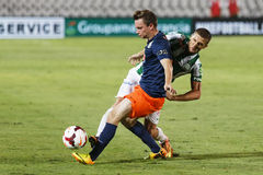 FTC vs. MTK OTP Bank League football match Stock Images