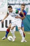 FTC vs. Vasas Hungarian OTP BANK League game Stock Images