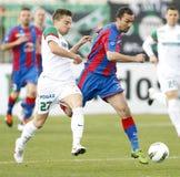 FTC vs. Vasas Hungarian OTP BANK League game Royalty Free Stock Photo