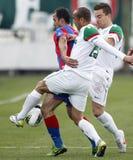 FTC vs. Vasas Hungarian OTP BANK League game Royalty Free Stock Photography