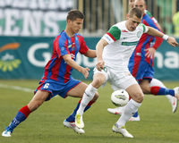 FTC vs. Vasas Hungarian OTP BANK League game Stock Photography