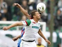 FTC vs. Vasas Hungarian OTP BANK League game Stock Photos