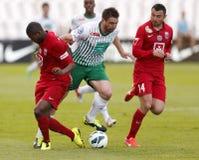 FTC vs. Videoton OTP Bank League football match Royalty Free Stock Photography