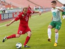 FTC vs. Videoton OTP Bank League football match Royalty Free Stock Image