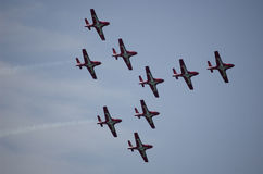 Fête aérienne Photos libres de droits