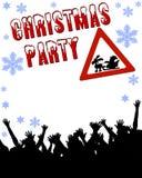 fête de Noël stationnaire Image libre de droits