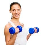 Ftness Frau Stockbild