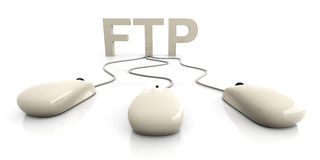 Ftp illustrazione di stock