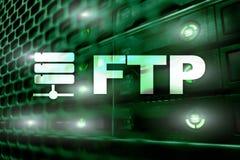Ftp - File Transfer Protocol Concetto di tecnologia della comunicazione e di Internet royalty illustrazione gratis