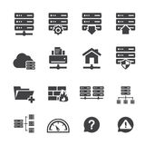FTP & Hosting Icons Royalty Free Stock Images