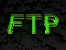 Ftp (protocolo de transferência de arquivos) Fotografia de Stock Royalty Free