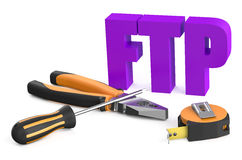 FTP service concept Stock Images