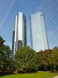 ftrankfurt Germany góruje Zdjęcia Stock