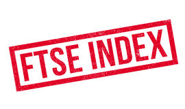 Ftse Index rubber stamp Royalty Free Stock Image