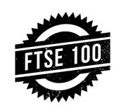 FTSE 100 rubber stamp Stock Images