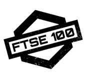 FTSE 100 rubber stamp Stock Photo