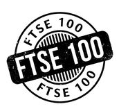 FTSE 100 rubber stamp Royalty Free Stock Photo