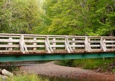 Fuß-Brücke Stockfoto