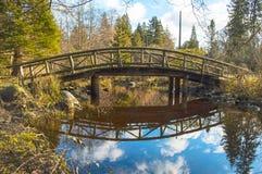 Fuß-Brücke Lizenzfreies Stockfoto