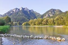 Am Fuß der drei Kronen-Berge, Polen Stockbild