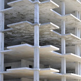 Fußböden nicht des abgeschlossenen Gebäudes Stockbilder