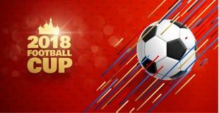 Fußball 2018 Vektor Abbildung