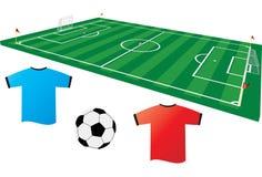 Fußball 2 stock abbildung