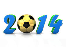 Fußball 2014 Stockfotos