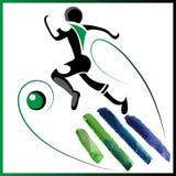 Fußball 2 Lizenzfreie Stockfotos