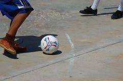 Fußball-Abgleichung! Lizenzfreies Stockbild