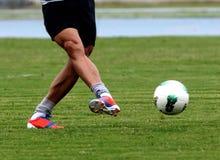 Fußball Acton Lizenzfreies Stockfoto