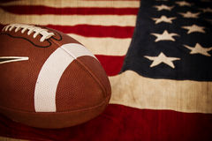 Fußball, Amerikas Zeitvertreib lizenzfreie stockbilder