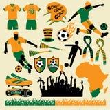Fußball-Ansammlung 1