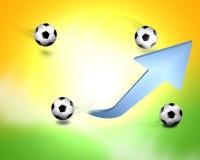 Fußball Brasilien Stockfoto