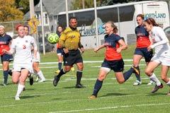 Fußball College NCAA Div. III Women's Lizenzfreies Stockfoto